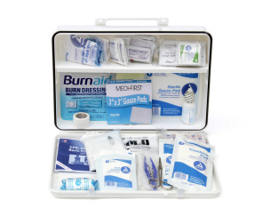 Complete 50-Person Plastic First Aid Kit