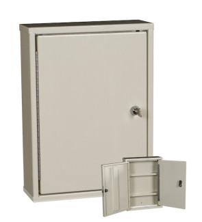 Double Door, Double Lock Narcotic Cabinet, Beige