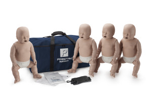 Prestan Infant Manikin 4-Pack with CPR Rate Monitor