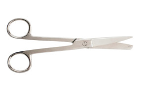 "Operating Scissors, Straight, 5-1/2"", Sharp/Blunt"