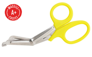 "Para-Med Scissors, 7"", Yellow"