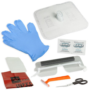 AED/CPR First Responder Kit with Microshield®
