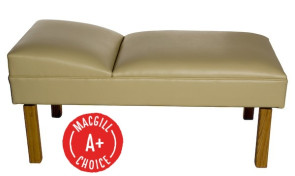 Lindsay Preschool Recovery Couch with Hardwood Legs