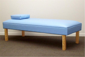 Bradley Recovery Couch with Hardwood Legs