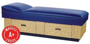 [$] Lindsay Recovery Couch with Base, 2 Drawers