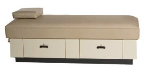 [$] Bradley Recovery Couch with Base, 2 Drawers