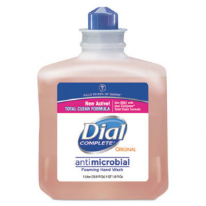 Dial® Complete® Antimicrobial Foaming Soap 1 Liter Refill