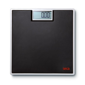 Seca Digital Floor Scale, Black