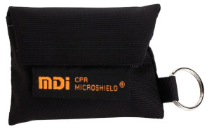 CPR Microkey® in Black Nylon Pouch