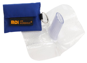 CPR Microkey® in Royal Blue Nylon Pouch