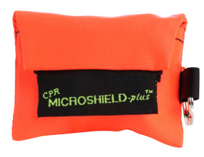 CPR Microkey®-Plus in Orange Nylon Pouch