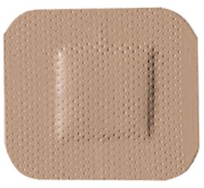 """1-1/2"""" x 1-1/2"""" Economy Plastic Patch, 100/Box"""