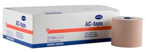"AC-tape 2"" x 5 Yds Elastic Adhesive Tape, 6/Box"