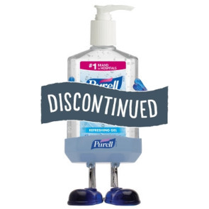 (Discontinued) Purell® Pal with 8 Oz. Instant Hand Sanitizer