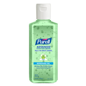 Purell® Advanced Hand Sanitizer Aloe Gel 4 oz.