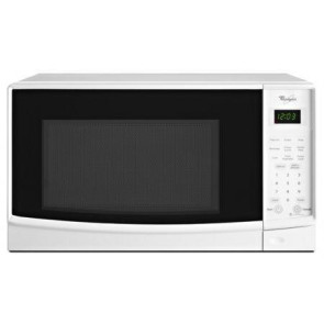White 0.7 Cu. Ft. Countertop Microwave