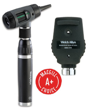 Welch Allyn® Ophthalmoscope and MacroView™ Otoscope Set
