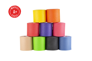 "Tape Underwrap, 2-3/4"" x 30 yds, Red, Single Roll"
