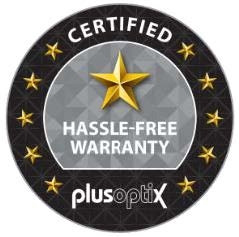 PlusoptiX 1 Year Extended Warranty Program