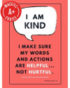 "I Am Kind Poster, 11"" x 17"", Laminated"