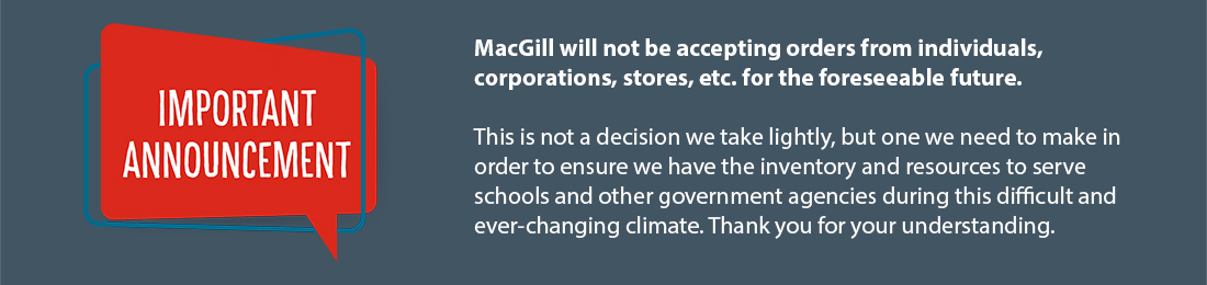 MacGill Order Restrictions
