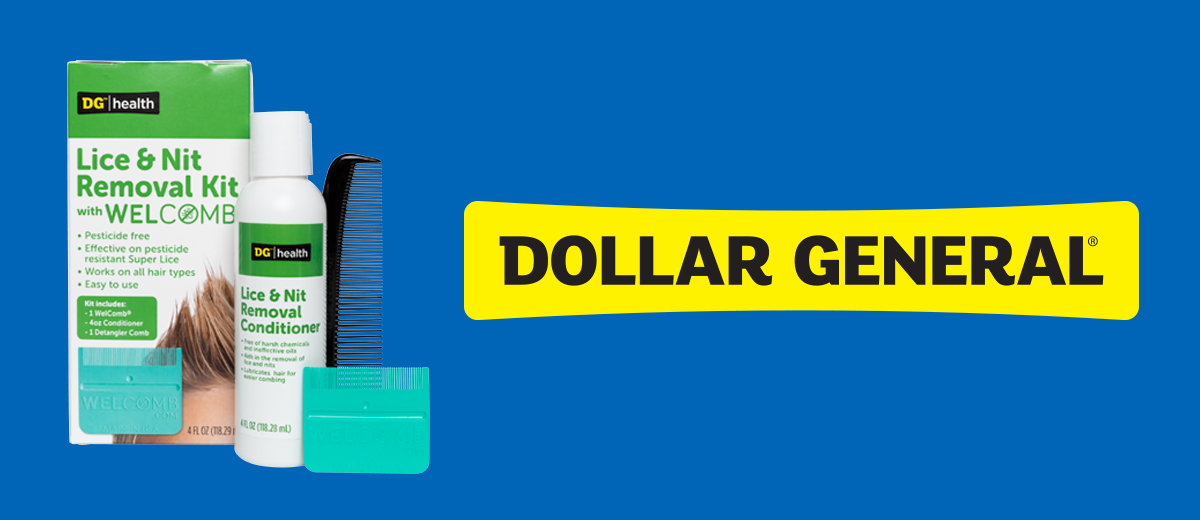 Find WelComb® at Your Local Dollar General