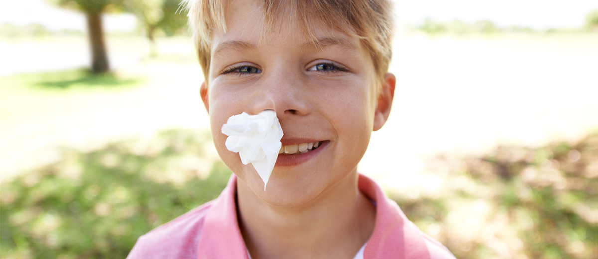What Does the Cold, Dry Winter Air Bring? Nosebleeds