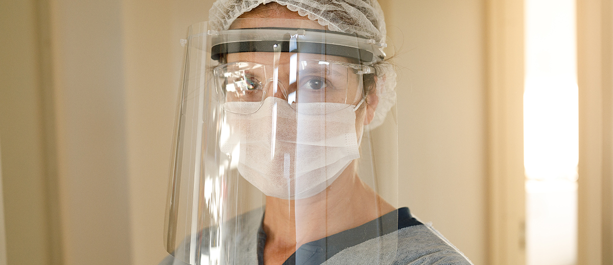 Using Face Shields and Goggles for COVID-19 Prevention